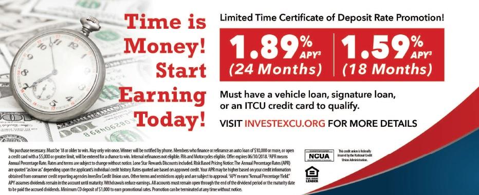 Time is Money Start Earning Today insert