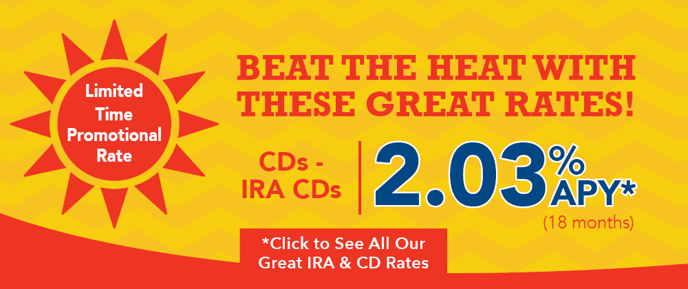 Beat the Heat CD-IRA Web Banner 08.31.18