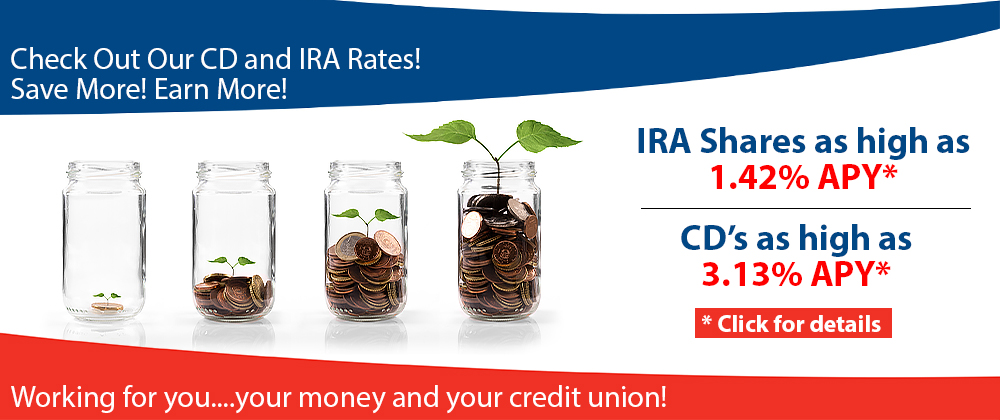 CD and IRA rates 2nd Quarter 2019 Web Banner